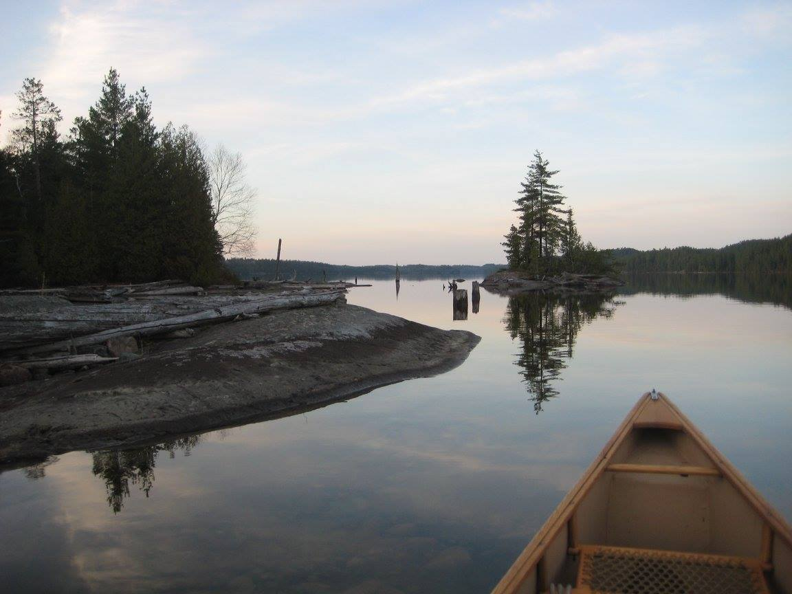 Glory in the Face - Mike Wilkins - That Final Solo Canoe Trip. May 2011
